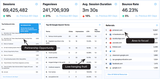 MonsterInsights Publisher Report