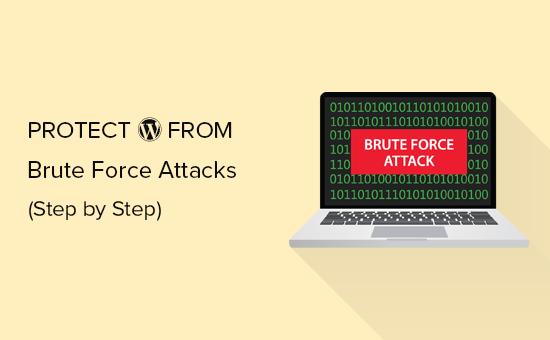 melindungi WordPress dari serangan brute force