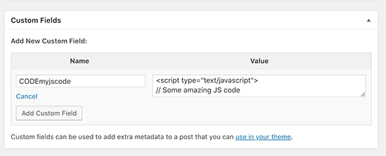 How to Easily Add JavaScript in WordPress Pages or Posts