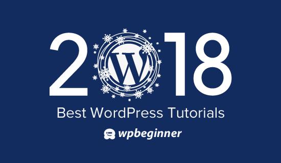 Best of the best WordPress tutorials of 2018