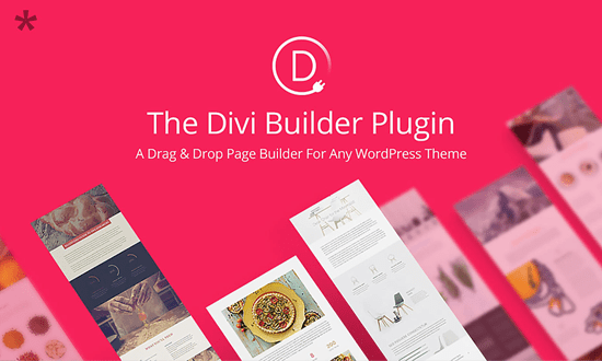 Divi Builder Drag and Drop WordPress Page Builder plugin