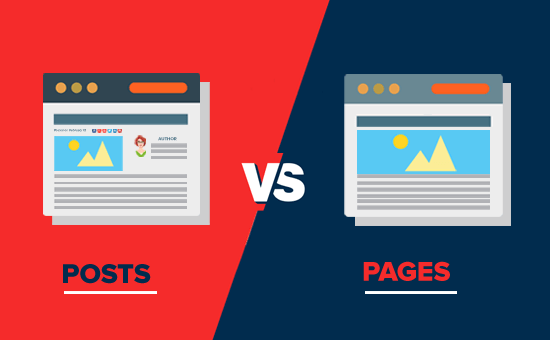 WordPress Posts vs. Pages - What's the difference