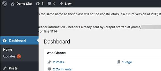 Режим отладки WordPress