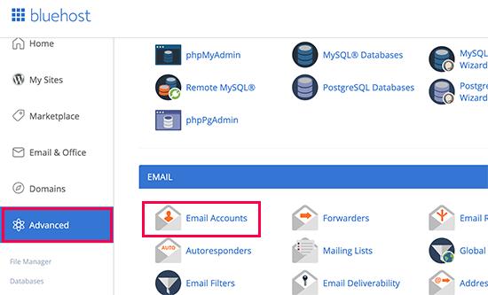 Mengelola akun email Anda