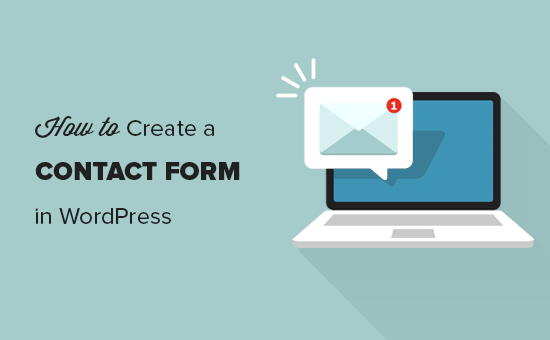 Easily add a contact form in WordPress