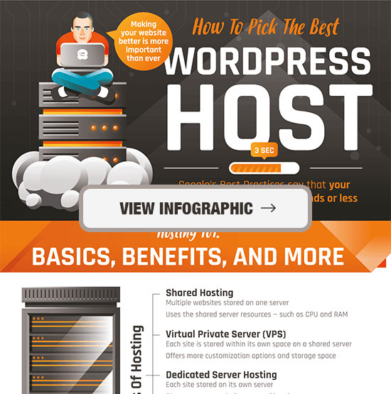 Choose Best WordPress Hosting Infographic Preview