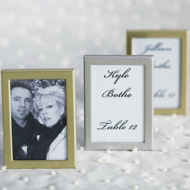Easel Back Mini Photo Frames