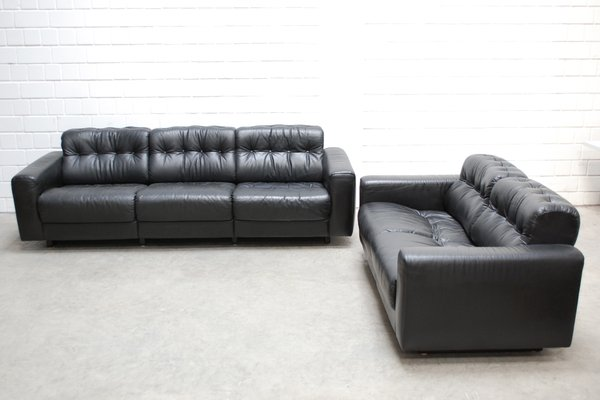 living room set leather menards furniture ds 40 from de sede for sale at pamono 30