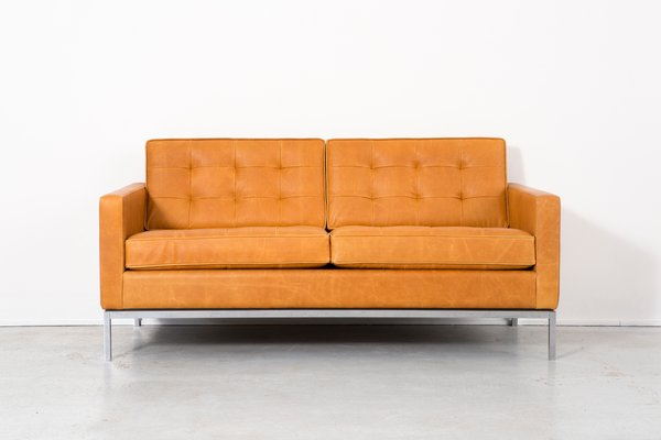 leather sofa by florence