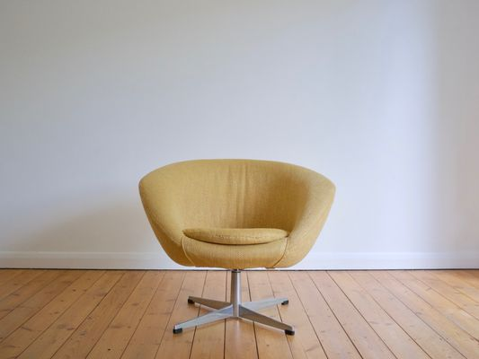 ab swivel chair desk lower back support swedish lounge from overman 1960s for sale at pamono 1