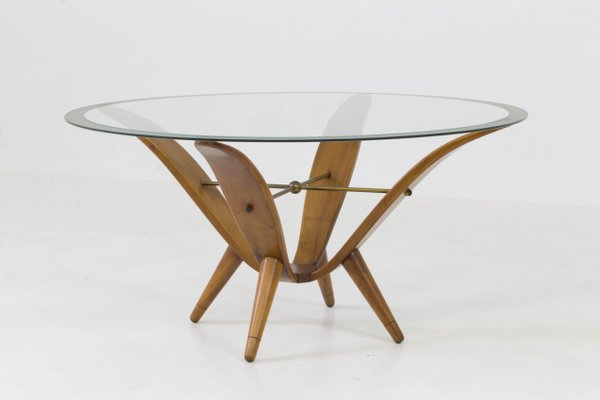 italian mid century modern coffee table 1950s