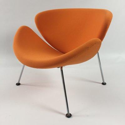 orange slice chair la z boy lift parts vintage lounge by pierre paulin for artifort 1