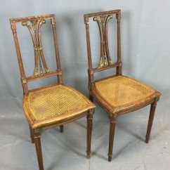 Antique Oak Dining Chairs Banquet Chair Covers And Sashes Vintage Set Of 2 For Sale At Pamono 1