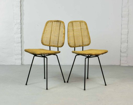 where can i buy cane for chairs church 4 less by dirk van sliedregt rohe noordwolde 1950s set of 2 1
