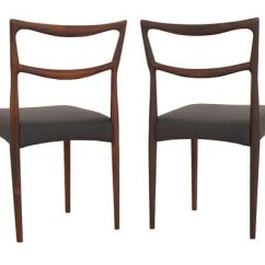 Set Of Chairs Dining Room Chair Removable Covers Danish Rosewood By H W Klein For Bramin 1963 8 4