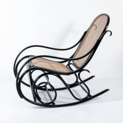 Rocking Chair Footrest Slipcovers For Parson Chairs Antique No 10 With From Thonet Sale At 1