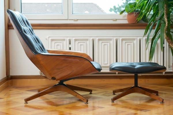 lounge chair leather girls computer vintage mr by george mulhauser for plycraft 2