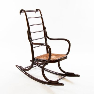 1920s rocking chair 2013 ford explorer captains chairs art nouveau bentwood child s by professor epstein thonet 1