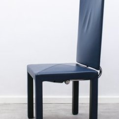 High Back Dining Chair Swivel That Locks Arcalia By Paolo Piva For B Italia 1980s