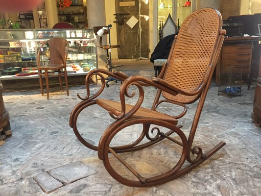 antique rocking chairs for sale outdoor hanging swing chair with stand from thonet at pamono 1