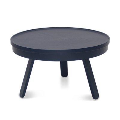 table basse batea medium bleue avec plateau de rangement par daniel garcia sanchez pour woodendot