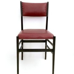 Gio Ponti Chair High Recall Burgundy Leggera Chairs By For Cassina 1950s Set Of 6 1