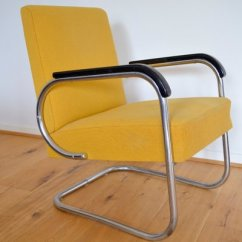 Steel Lounge Chair Stand Exercise Tubular From Hayek Gottwald 1930s For Sale At Pamono 1
