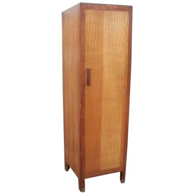 slim oak wardrobe from