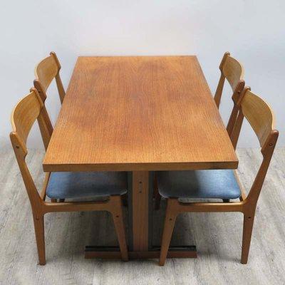 mobilier de salle a manger vintage scandinave