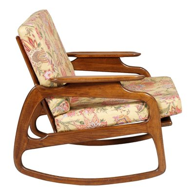 adrian pearsall rocking chair swivel meaning in urdu walnut by 1950s for sale at pamono 2