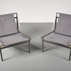 Sling Chairs For Sale Jet 3 Ultra Power Chair Metal 1950s Set Of 2 At Pamono 1