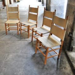 Folding Kentucky Chair Hula Review Chairs And Scuderia Table By Carlo Scarpa For Bernini 1977 12