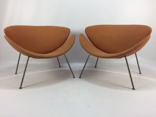orange slice chair tribecca home dining chairs vintage lounge by pierre paulin for artifort 1960s 1