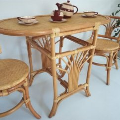 2 Chairs And Table Rattan Orthopedic Desk Chair Vintage Tete A For Sale At Pamono 3