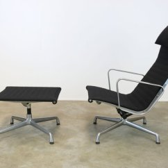 Office Chair Ottoman Ikea Pod Ea124 Ea125 Lounge By Charles Ray Eames For Herman Miller