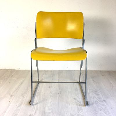 david rowland metal chair gray club vintage yellow 40 4 by for general fireproofing 1