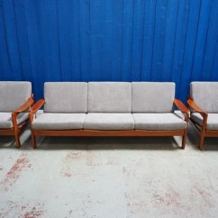 Danish Living Room Furniture Interior Design Small Layout Mid Century Modern Set 1960s For Sale At Pamono 1