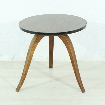 small round side table 1960s