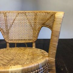 Round Wicker Chair Covers For Sale Uk Mid Century At Pamono 3