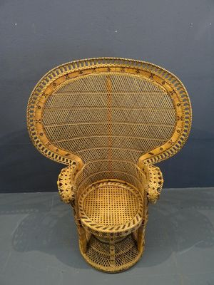 rattan peacock chair ikea and a half vintage 1960s for sale at pamono 2