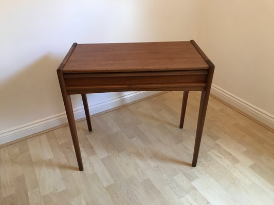 teak sofa table sleeper mechanism repair console by john herbert for a younger ltd 1960s 1
