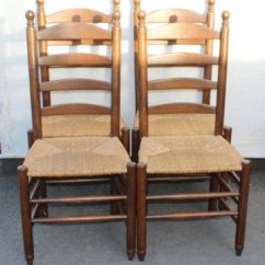 Ladderback Dining Chairs Wheelchair Motor Vintage Oak 1920s Set Of 4 For Sale At Pamono 1