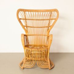 Rattan Peacock Chair Babys First 2 From Rohe Noordwolde 1950s For Sale At Pamono 1