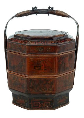 late 19th century red