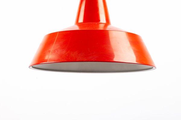 Lampe à Suspension En Métal Rouge De Ikea 1960s