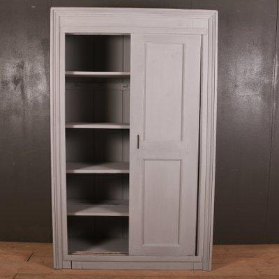 armoire a linge antique en bois 1880s