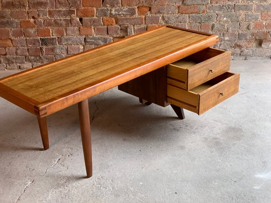 oak and walnut coffee table by george nakashima for widdicomb 1950s