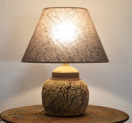 ceramic table lamp from