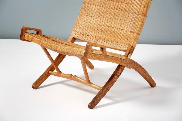 Jh 512 Oak Folding Chair By Hans J Wegner For Johannes Hansen 1949 For Sale At Pamono