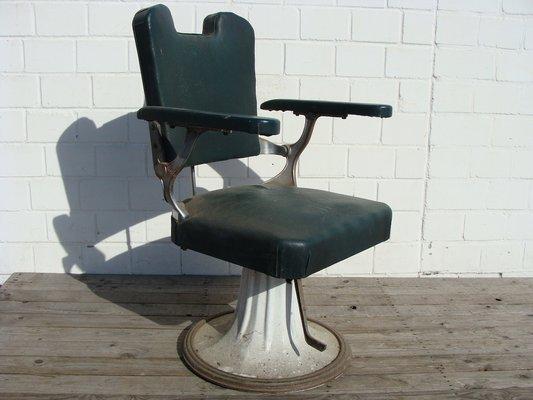 fauteuil de coiffeur vintage de figaro france